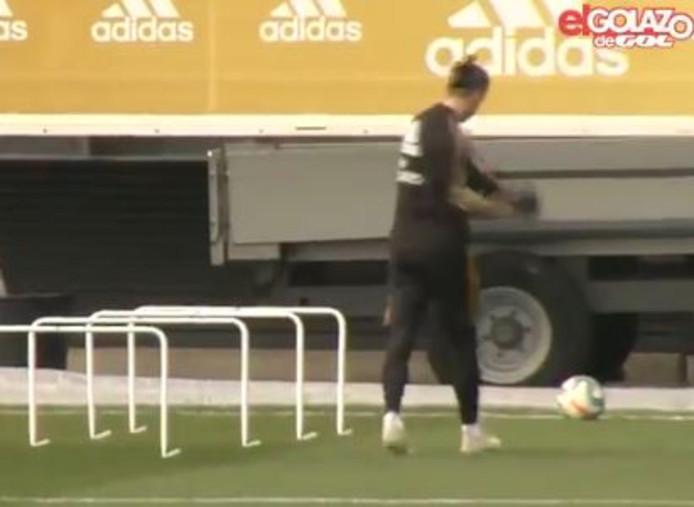 Gareth Bale à l'entraînement