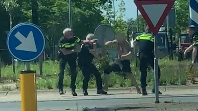 Het incident in Winterswijk eerder deze week.