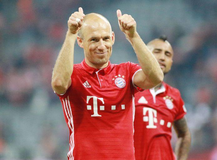 Robben als speler van Bayern München.