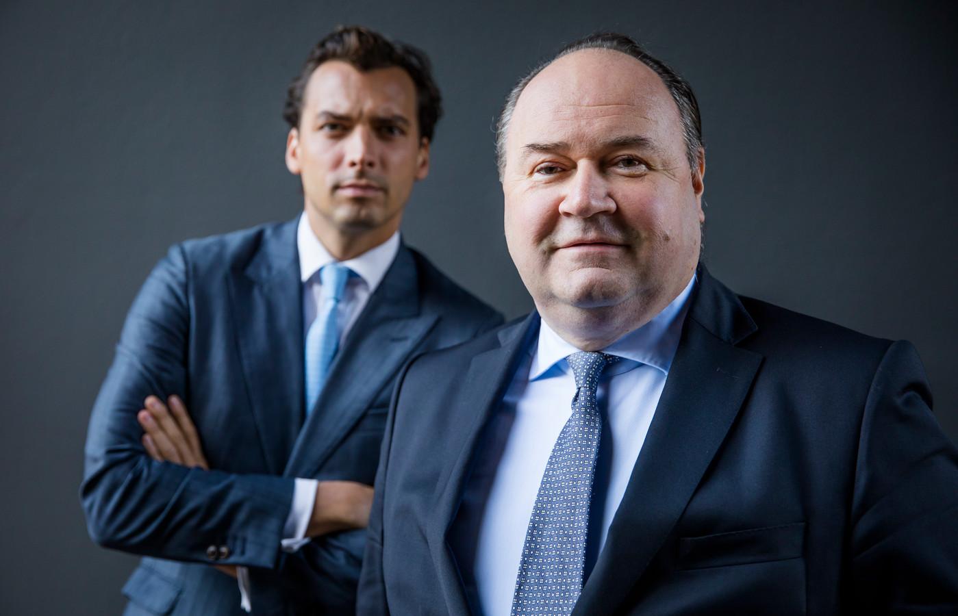 Thierry Baudet en Henk Otten in 2018.