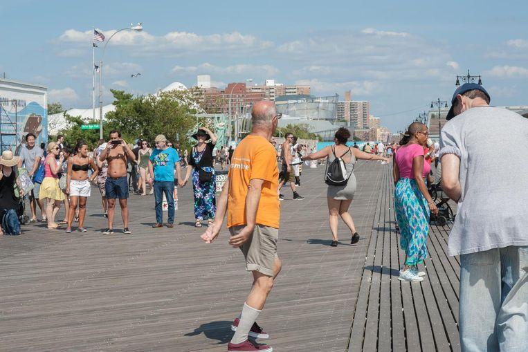 Coney Island Beeld Lydo Le