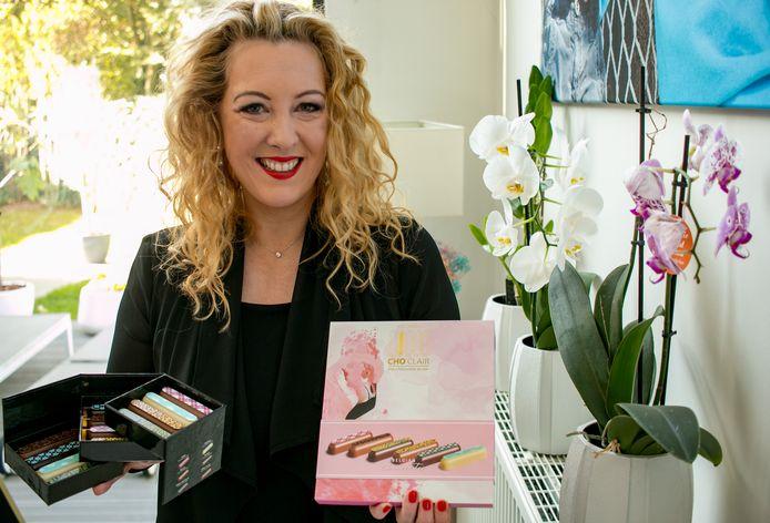 Ann Van Acker van Fairy Chocolates mag de Cho'Clair in Dubai promoten.