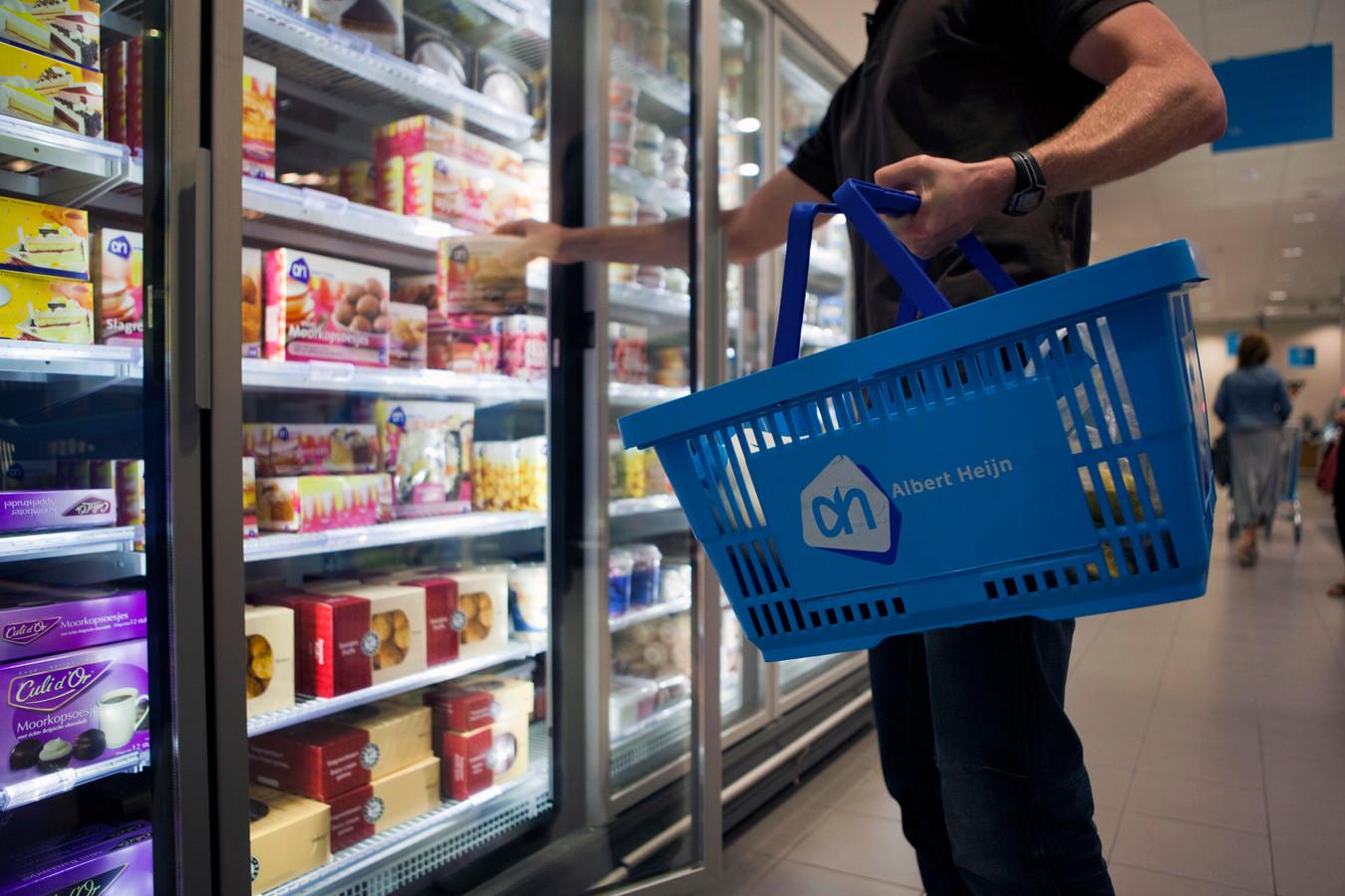 Winkelen in de supermarkt. Foto ter illustratie.