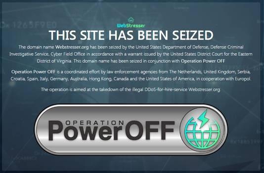 Op webstresser.org kon je voor 15 euro per maand DDoS-aanvallen inkopen. De politie haalde de website uit de lucht.