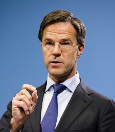 Rutte krijgt zwarte piet van Kamer: 'Premier moet leiderschap tonen'