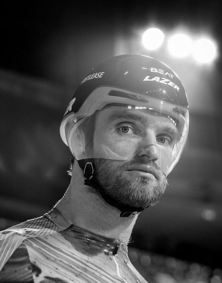 Baanwielrenner Matthijs Büchli: 'Verlies je op het moment dat je twee azen hebt, dan heb je het slecht gedaan'. Beeld Patrick Post