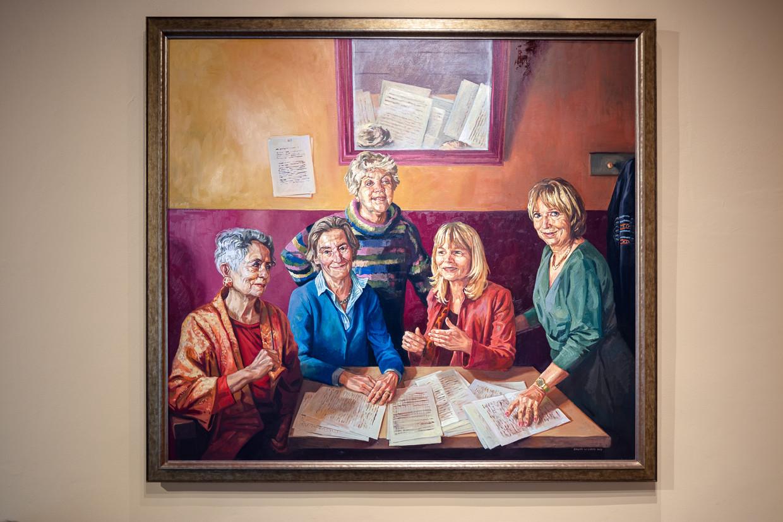 Iconische vrouwelijke hoogleraren door Rogier Willems Beeld Jakob van Vliet
