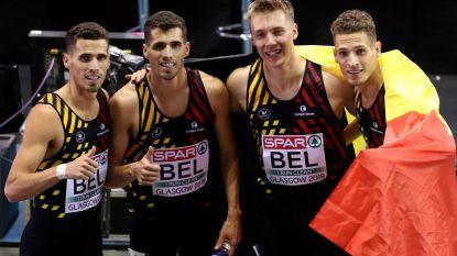 Belgian Tornados grijpen brons op het WK voor estafetteteams na diskwalificatie VS