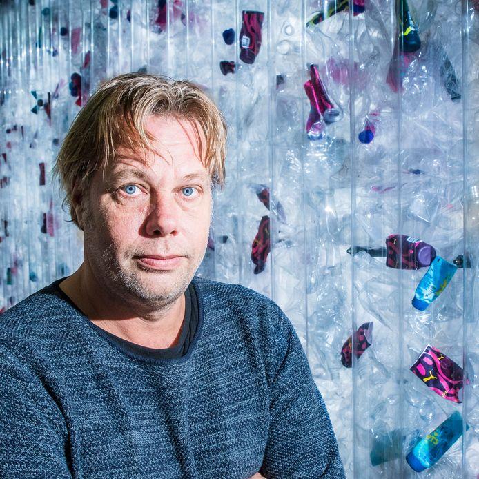Michiel de Wit, organisator van het Twente Circulair Festival in  het Stork Paviljoen.