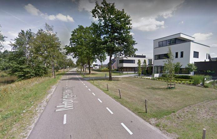 De Morgenweg in Uden wordt komende weken ingericht als fietsstraat.