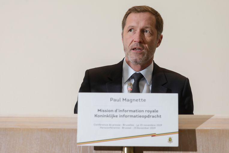 Informateur Paul Magnette (PS). Beeld BELGA