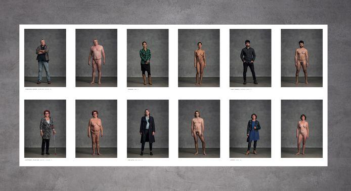165 Rotterdammers gingen uit de kleren voor de lens van fotograaf Leon Schröder.