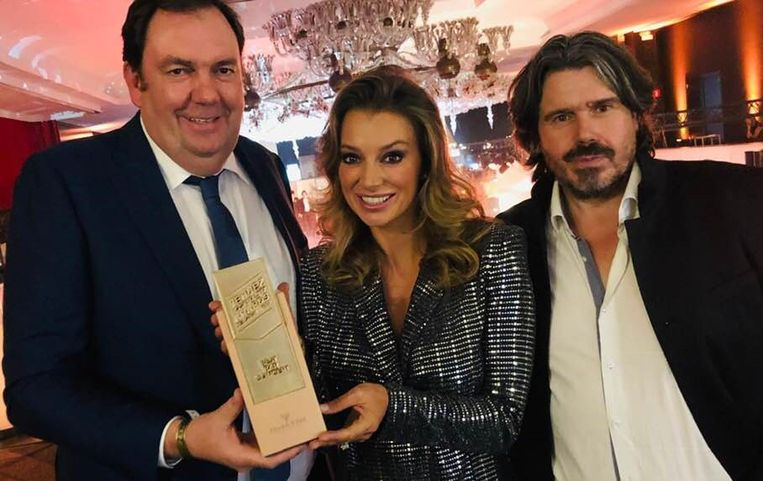 Pascal Vossius en Koen Vanmechelen ontvangen Award uit handen van Veronique De Kock