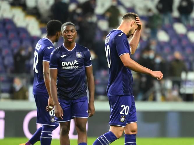 """Onze chef voetbal ziet hoe Anderlecht het maar niet leert: """"Acht punten zijn dit seizoen al weggegooid. En tegen wié..."""""""