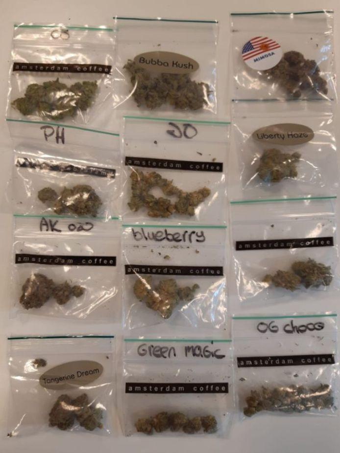 De politie heeft bij een controle op de Kottenseweg in Winterswijk een grote hoeveelheid drugs in beslag genomen. Drie verdachten zijn aangehouden en in de cel gezet.