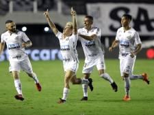 PSG-ster Neymar mengt zich in feestgedruis Santos na bereiken Copa Libertadores-finale