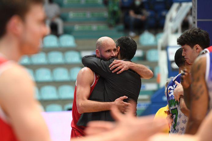Dusan Djordjevic en Dario Gjergja, het gouden duo van Filou Oostende.
