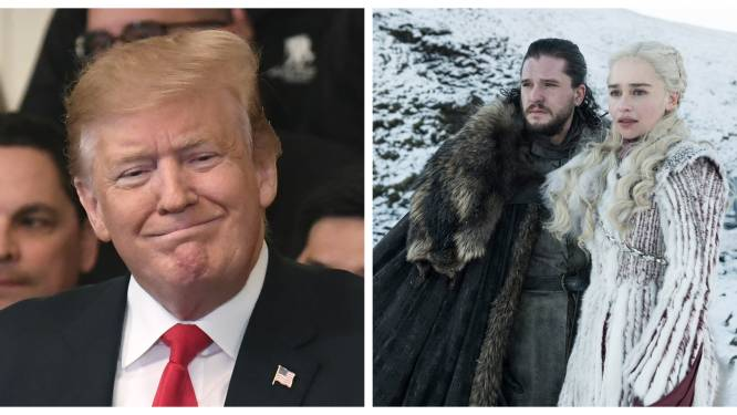 """HBO is het beu: """"We zouden willen dat Trump geen 'Game of Thrones'-memes meer maakt"""""""