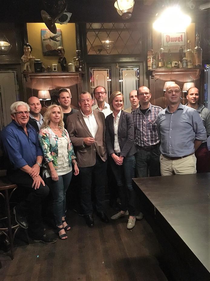 Elf van de veertien eerste kandidaten van VVD Meierijstad.