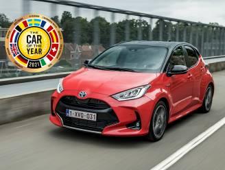 Toyota Yaris is de auto van het jaar
