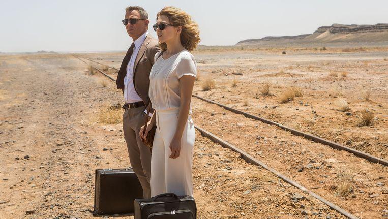 Daniel Craig en Léa Seydoux in Spectre. Beeld Jonathan Olley