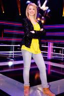 Fabiënne tijdens haar deelname aan The Voice Kids.