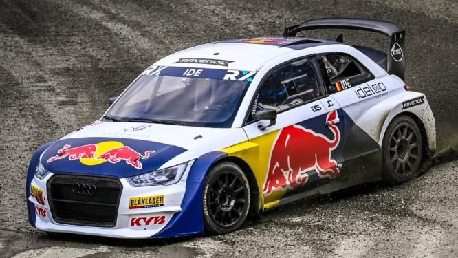 """Enzo Ide start in WK rallycross: """"Trots om in de kleuren van Red Bull te racen"""""""
