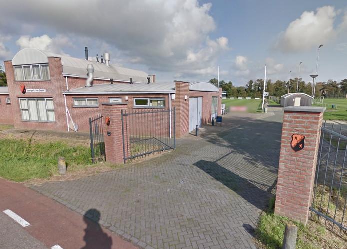 Het sportcomplex Van Zuijen waar DFS zit.