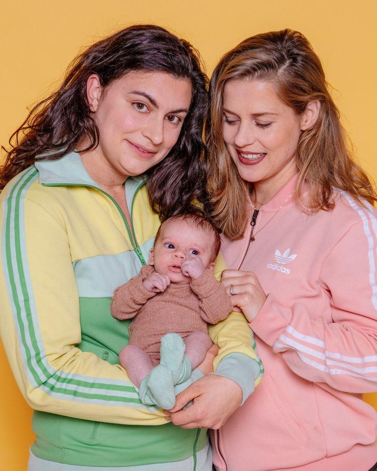 Bette, Anna en Ted. Beeld Ernst Coppejans