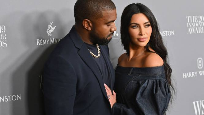 Kanye West draagt zijn trouwring nog na scheiding van Kim Kardashian