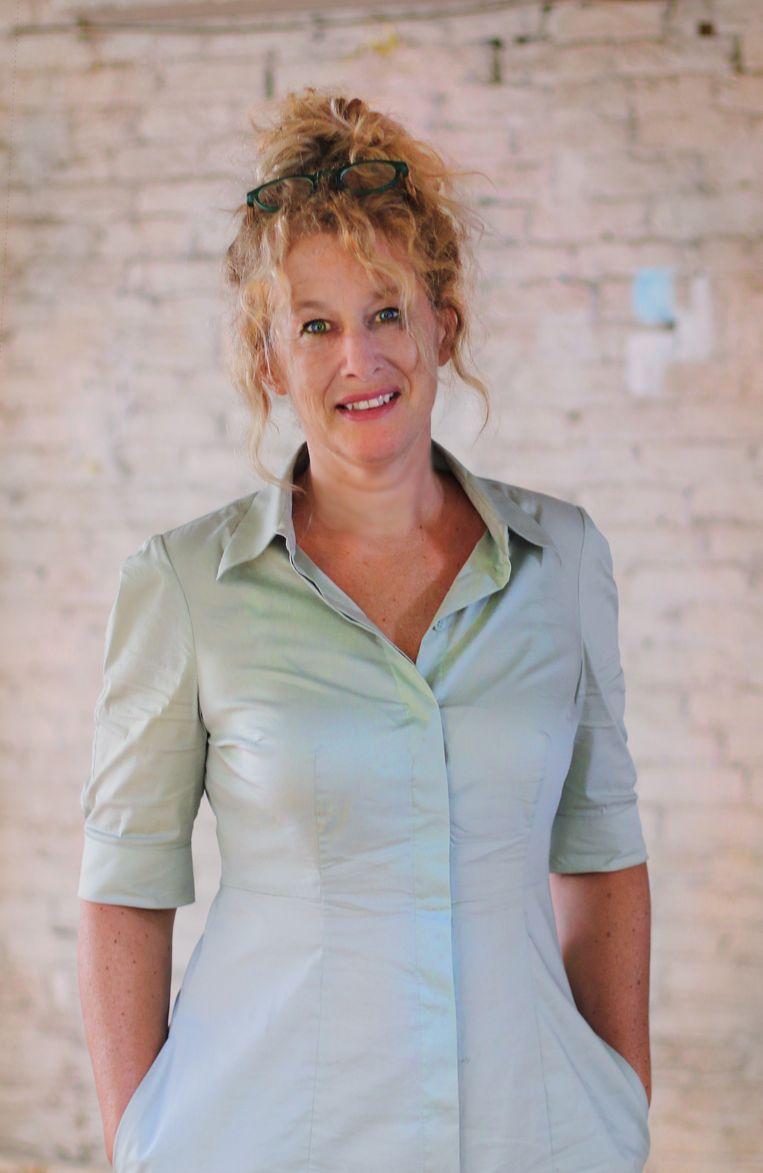Siska Goeminne, schrijver en vertaler van kinder- en jeugdboeken: 'Intrigerend en melancholisch.' Beeld RV