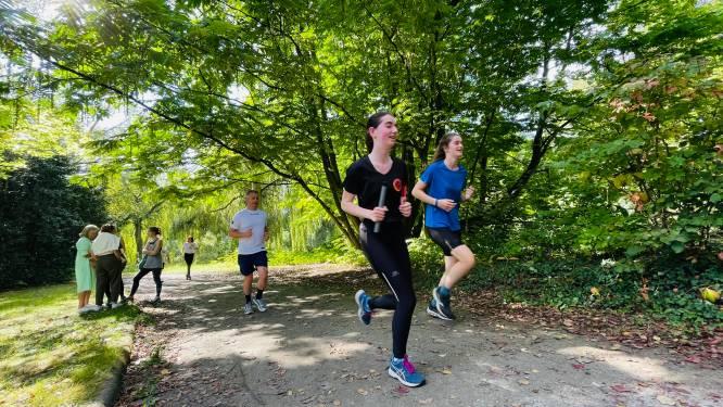 """Mini-editie van Levensloop in het stadspark: """"Iedereen is blij elkaar terug te zien"""""""