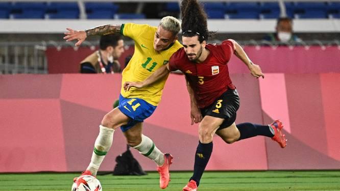 Ajax-aanvaller Antony schittert voor Brazilië met beslissende assist in olympische finale