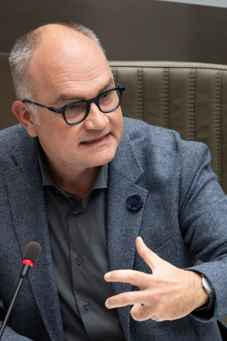 Björn Rzoska. 'Met zijn kritiek is niets gebeurd', klinkt het in de partij. Beeld Photo News