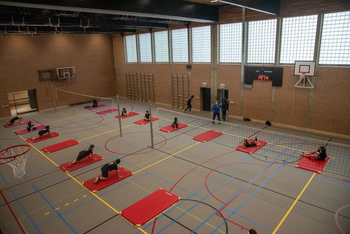 Nieuwe sportinfrastructuur SFI Melle is in gebruik