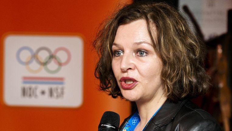 Minister Edith Schippers van Volksgezondheid en Welzijn Beeld anp