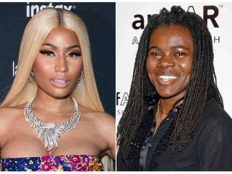 Nicki Minaj renonce au procès et verse 450.000 dollars à Tracy Chapman