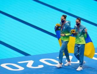Pijnlijke flater op Spelen: Oekraïense zwemsters aangekondigd als Russen