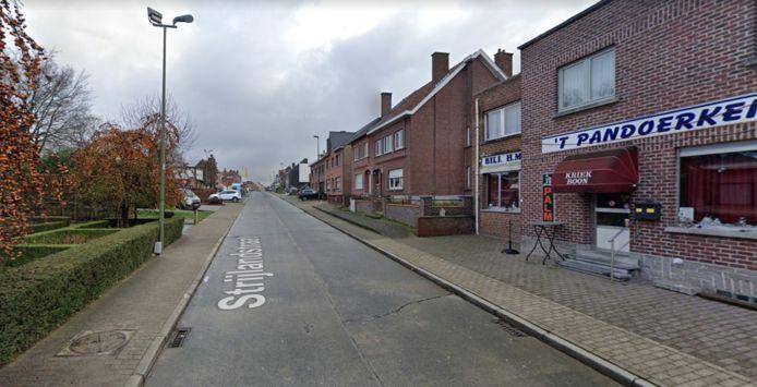 De Strijlandstraat in Gooik.