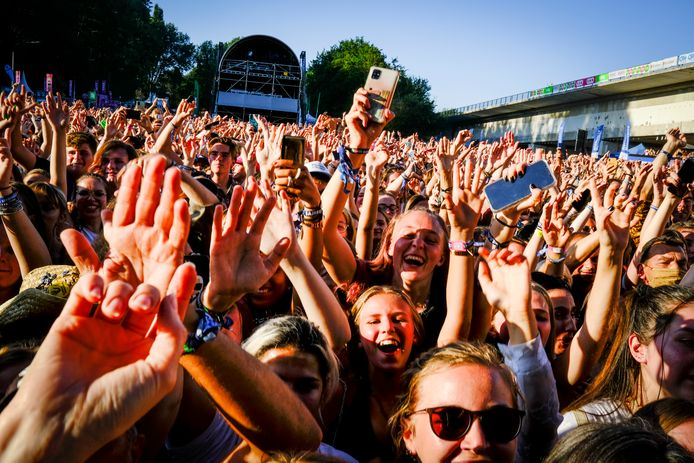 20.000 festivaliers étaient présents ce samedi.
