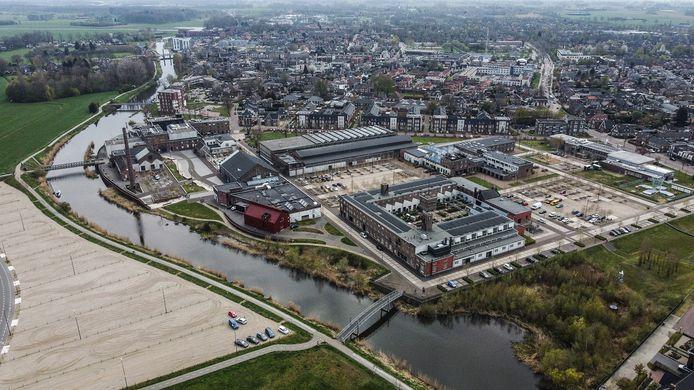 De Oude IJssel slingert van de Duitse grens via Ulft en Doetinchem naar Doesburg.