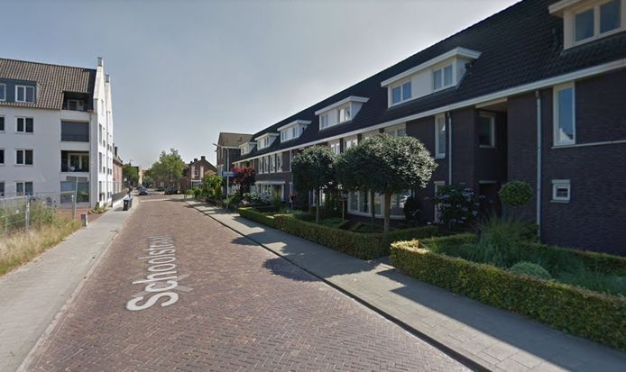 Schoolstraat in Moergestel