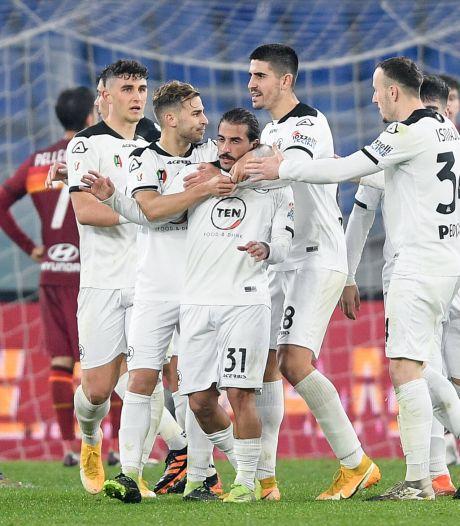 AS Roma verliest na blunder ook reglementair van Spezia