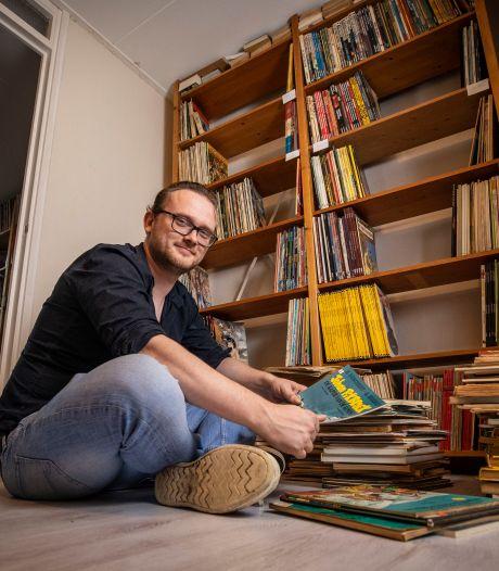 Waar zijn de duizenden stripboeken van de overleden vader van Zeb gebleven? 'Voel me verantwoordelijk'