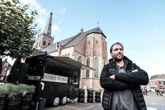 Robby Welling, voorzitter van de Koninklijke Horeca in Doetinchem.