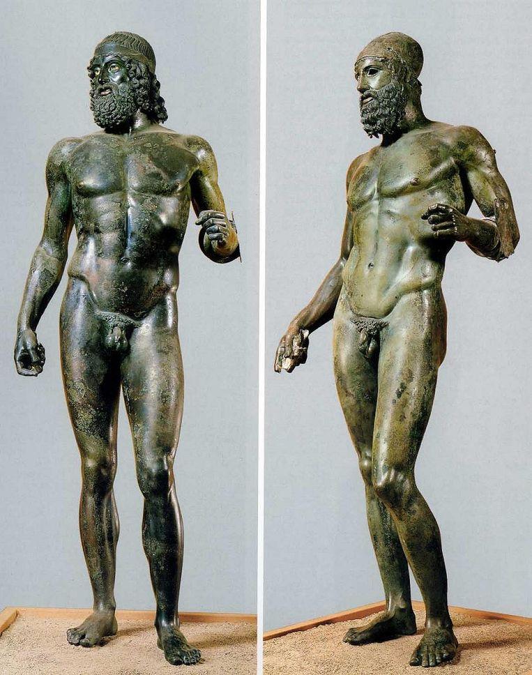 De bronzen strijders van Riace Beeld