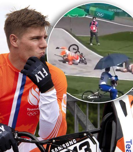 Knie gebroken, maar tóch weer die baan op: Niek Kimmann (25) kent de gevaren van zijn sport