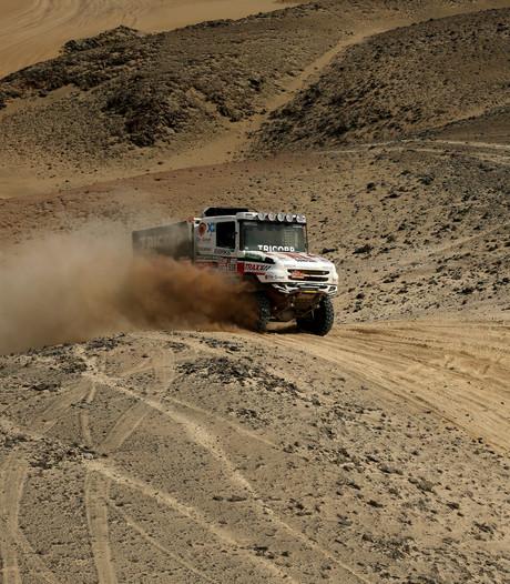 Truck Van den Heuvel is in topconditie: 'Deze duinen hadden we 3 jaar geleden met geen mogelijkheid gehaald'