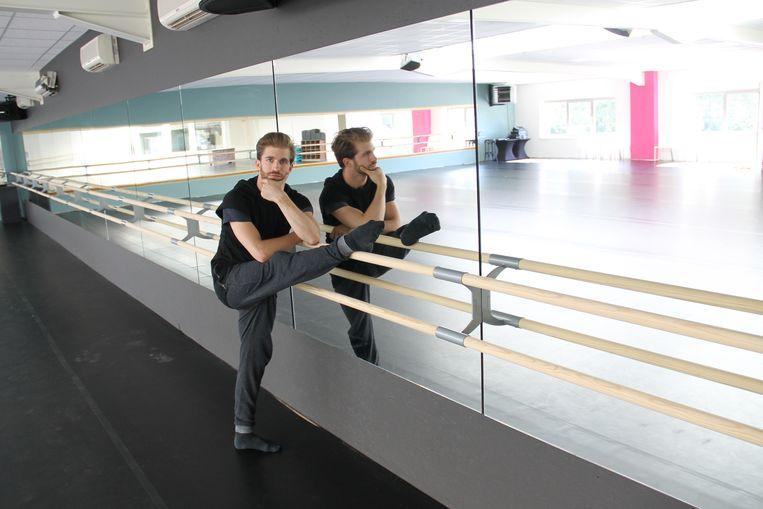 Dieter Vandeputte in het nieuwe Life Danscenter.
