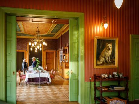 Crowdfunding om schilderij van hond Nansen te behouden voor Steenwijk